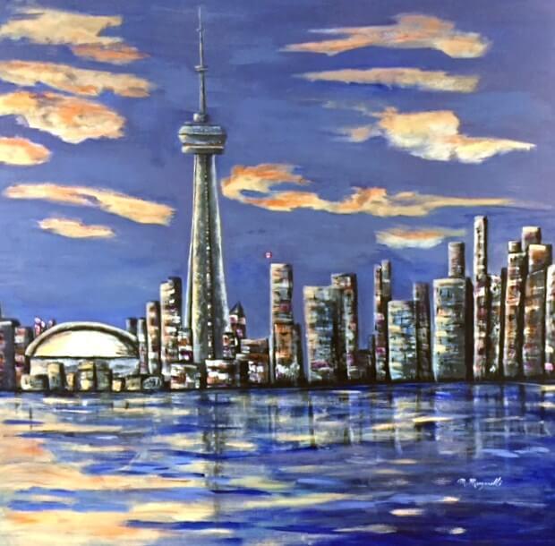 Toronto Skyline - ORIGINAL SOLD